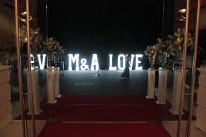 Un set superb pentru o nunta speciala!